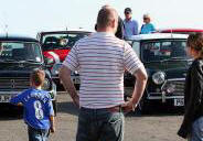 A display of Minis near the Moot House