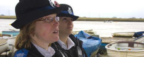 PCSOs Trudy Sharman and Amy Cowan
