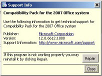 Microsoft Compatibility Pack