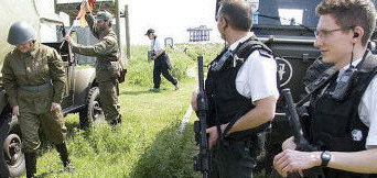 Armed police now patrol around Sizewell power station