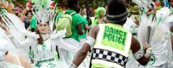 Dance police at Hackney Carnival 2014