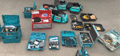 Multiple power tools recovered by Suffolk Constabulary