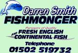 Darren Smith fishmonger - 01502 519732